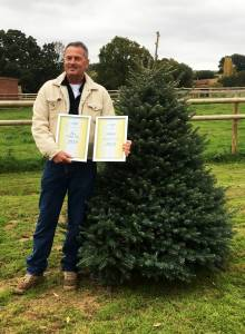 ladydowns christmas trees winner