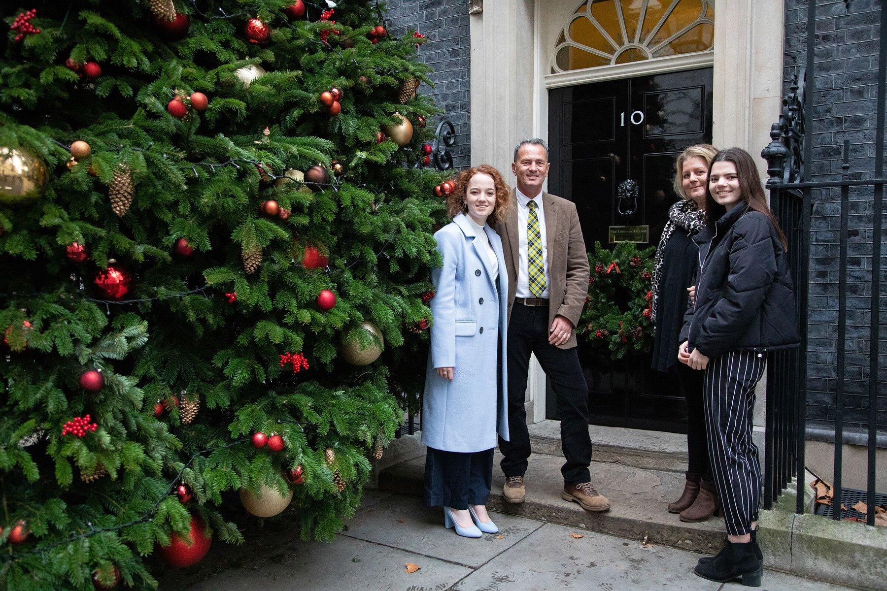 Cornwall Christmas Trees at Downing Street