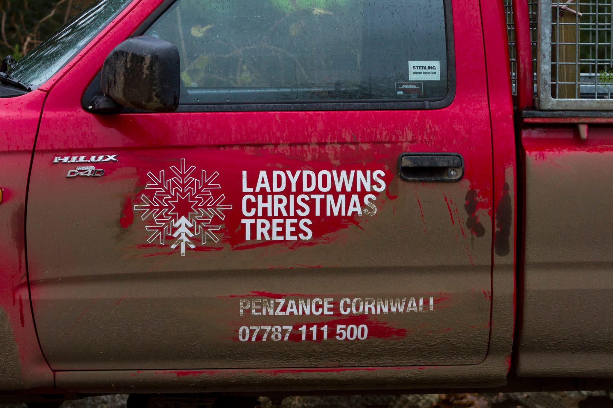Mud on the Ladydowns van